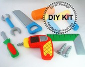 KT09_DIY felt Toolbox KIT Package_$32